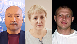 Kazakhstan: Stop repression and physical attacks on leaders of independent unions; hands off Larisa Kharkova, Erlan Baltabai and Dmitriy Senyavskiy